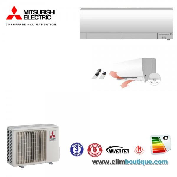 Climatisation mitsubishi electric msz fh25vehz - Mitsubishi electric climatisation ...