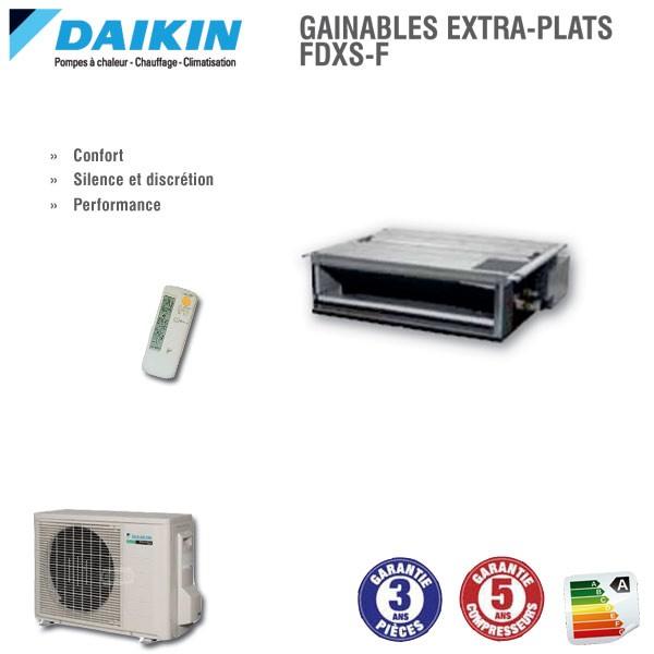 Climatisation Gainable Daikin Pour 100m2 : climatiseur gainable daikin fdxs50f9 ~ Premium-room.com Idées de Décoration