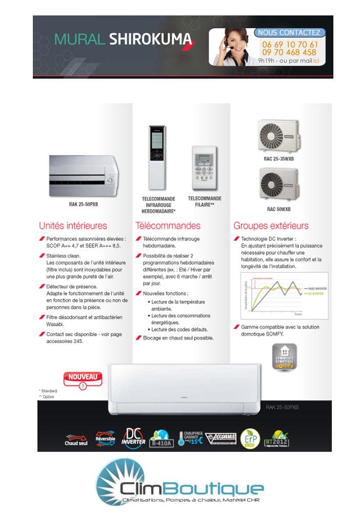 climatiseur hitachi shirokuma xrak25pxb. Black Bedroom Furniture Sets. Home Design Ideas