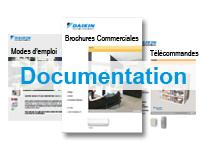 Documentations sur sur les climatiseurs Daikin