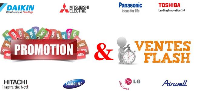Vente clim reversible de marque a prix promos - Discount vente flash ...