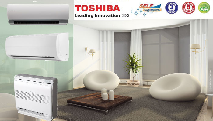 climatiseurs r versibles inverter toshiba. Black Bedroom Furniture Sets. Home Design Ideas