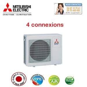 Quadrisplit Mitsubishi-Electric MXZ-4D72VA