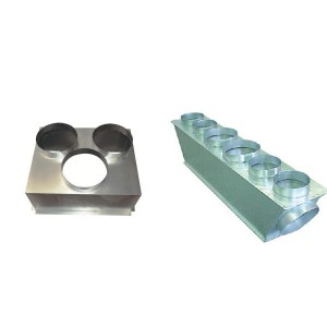 Plenums reprise + soufflage PEAD-RP6071