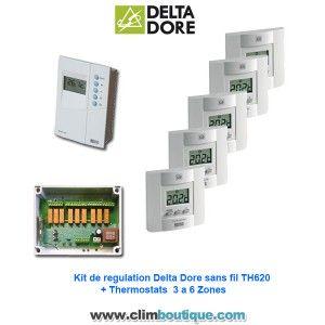 Kit Delta dore TH620 6 Zones