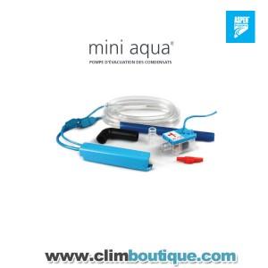 Pompe de relevage mini aqua