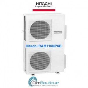 6 postes Hitachi RAM-110NP6B