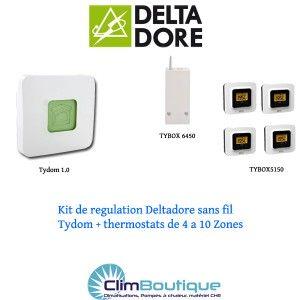 Kit Delta dore TYDOM 4 Zones