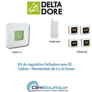 Kit Delta dore TYDOM 6 Zones