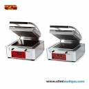 Panini grill  rainuree superieur et inferieur