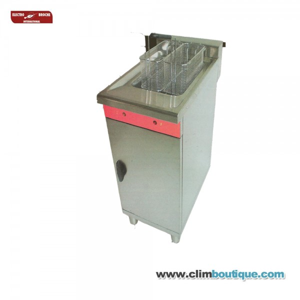Friteuse fast food haute capacite 16 litres for Friteuse fust