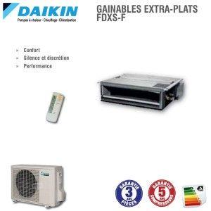 Gainable Daikin  FDXS25F+RXS25L3
