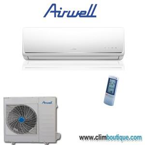 Climatisation airwell awsi hnd009 for Climatiseur mural 12000 btu