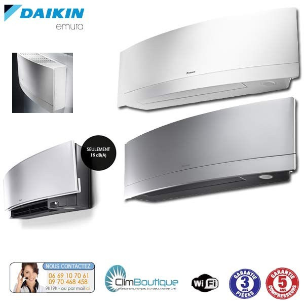 climatiseur daikin emura ftxg20lw. Black Bedroom Furniture Sets. Home Design Ideas