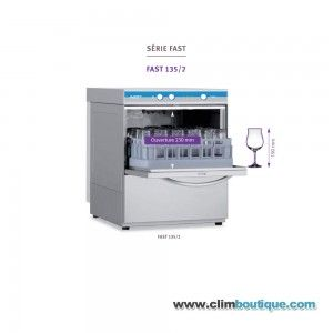 Lave verres Elettrobar Fast 135D/2