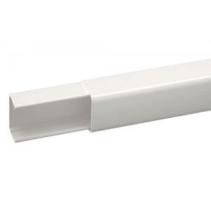 Goulotte extérieur pvc 80x60 mm 2 métres