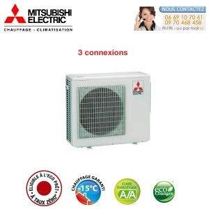 Trisplit Mitsubishi-Electric MXZ-3E54VA