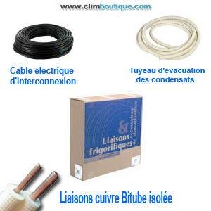 Kit d'installation standard 1/4-1/2  13 métres