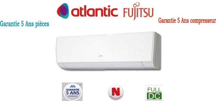Climatiseur inverter Atlantic LMC