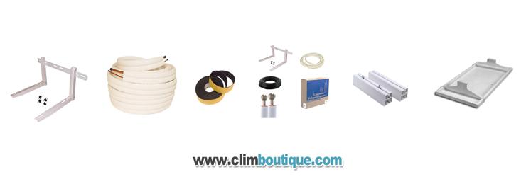Accessoires de climatisations , cuivre ,supports