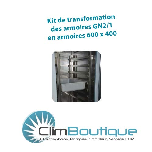 Kit de tranformation 600x400 armoire GN400TN