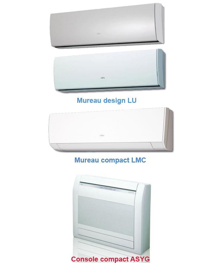 Unites interieur compatible multisplit Atlantic