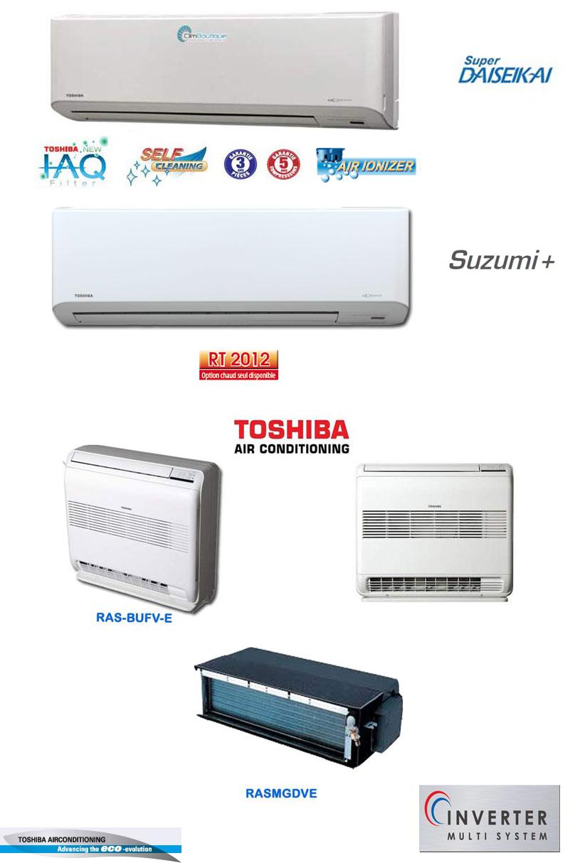 Unites interieur toshiba compatible multisplit