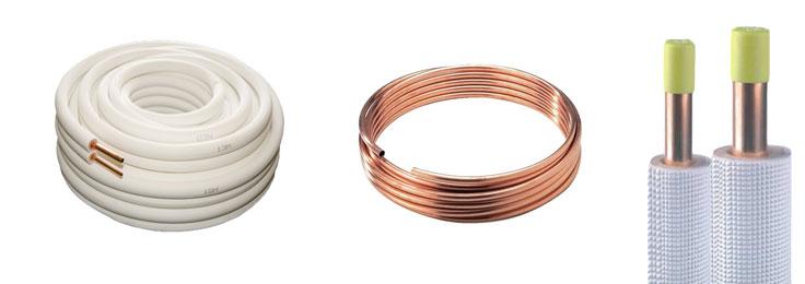 Courronnes de cuivres pour climatiseurs