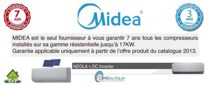 Climatiseurs Inverter Midea