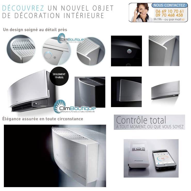 Nouveau climatiseur Daikin Emura 2014