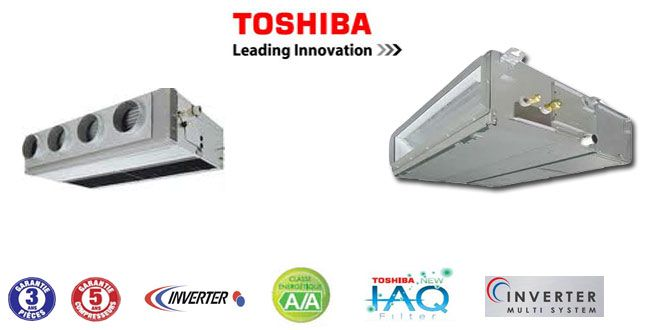 Climatiseurs gainable Toshiba