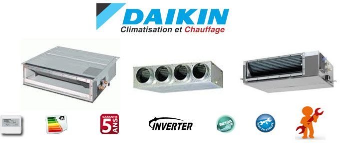 Climatisations gainable Daikin