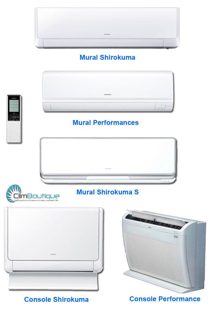 Unités intérieur compatible multisplit Hitachi