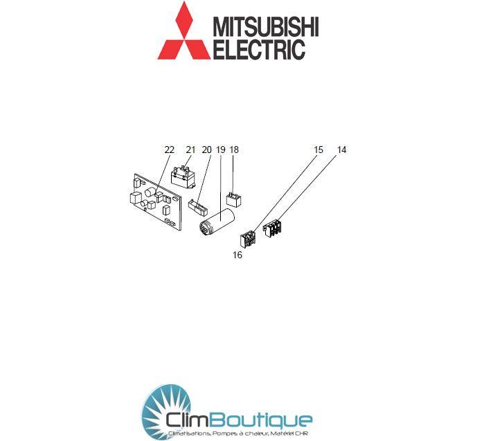 pieces detaachées mitsubishi muge50vb