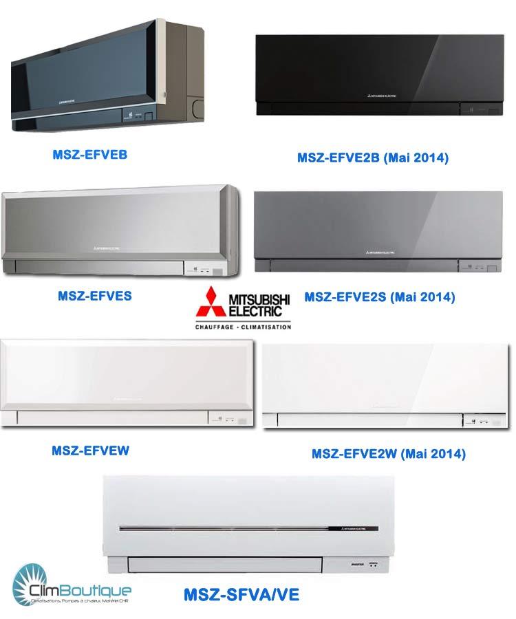 Unité intérieur compatible Groupe Mitsubishi